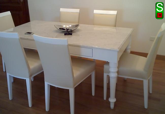 Saverio muebles for Juego de muebles de comedor